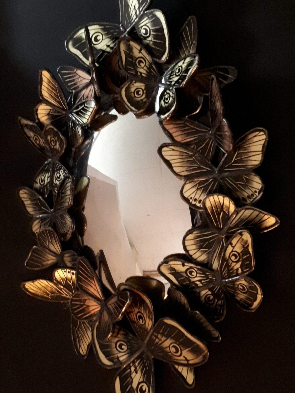 Miroir Paons de Nuit